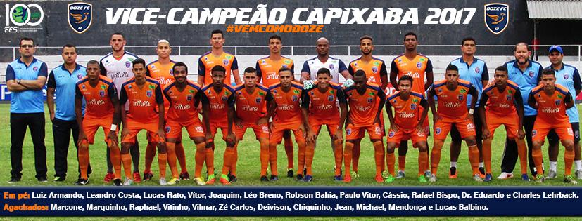 Doze FC vice-campeao capixabao 2017
