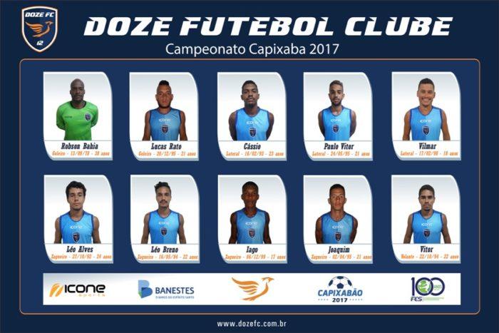 Elenco Doze FC 2017-1