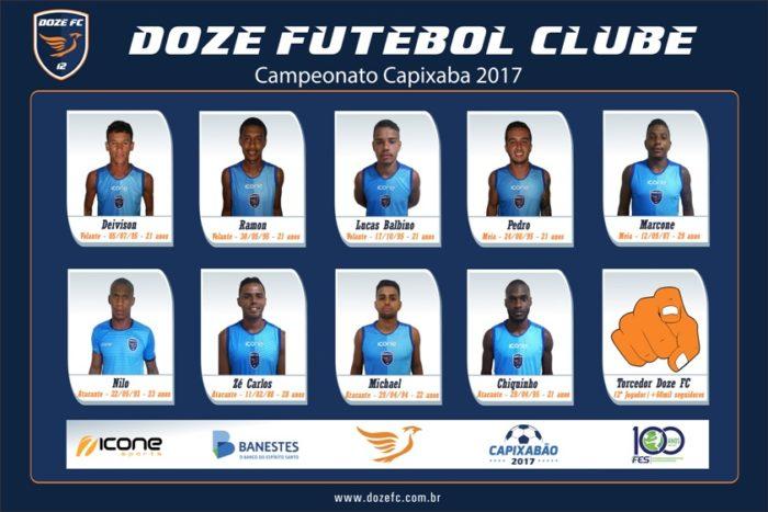 Elenco Doze FC 2017-2