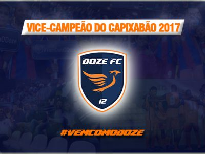 Doze FC Vice-Campeão Capixaba 2017
